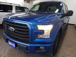 2015 Ford F-150 XLT FX4 4X4 LEATHER SUPERCREW CAB 5.0L Kitchener / Waterloo Kitchener Area image 9