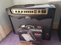 Peavey Vypyr 120 Tube Guitar Amp with Sanpera 1 pedal