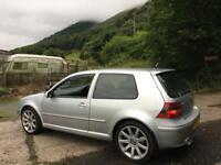 Golf 2.8 v6 4 motion quick sale £800