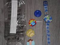 Toy story watch with attachable faces