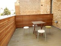 Stylish & Modern One Bedroom Apartment with Private Terrace in Central Holloway N7