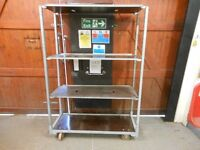TOOL PLANT TROLLEY. THIS DISMANTLES FLAT. 75 INS X 22 INS X 53INS VERY STURDY. CAN DELIVER