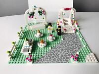 Custom Lego Wedding Day Diorama bride & groom