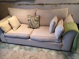 Collins and Hayes Remus 3 seater sofa