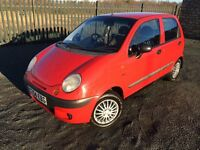 2004 04 DAEWOO MATIZ 1.0 SE 5 DOOR HATCHBACK - *ONLY 60,000 MILES* - ECONOMICAL - LOW INSURANCE!