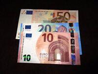 Cash for unused Euros