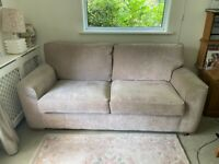 Used 4Ft 6 Inch pull out Sofa Bed