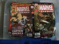 Marvel Comics Marvel Legends (Cap America, Iron Man and Thor) 128 issues