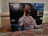 New Sony Playstation 4 PS4 1tb one terabyte console with Fifa 18
