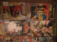 dc & Marvel Comics 1980s