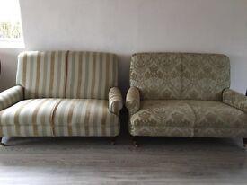 Luxuary 2 seater sofas