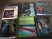 Science books, perfect for degree, A-levels, access course or GCSE's lot for £25.00