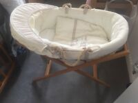 Mamas and papas Moses basket