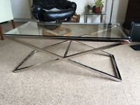 Glass coffee table for sale in Aberdeen
