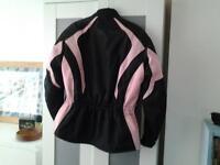 ladies biker jacket