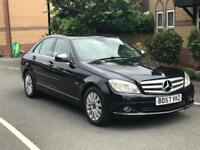 MERCEDES-BENZ C CLASS SALOON 2007 2.1 C200 CDI ELEGANCE DIESEL AUTOMATIC £3200 ONO IMMACULATE