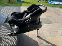 Concord Air Car Seat and Isofix Base - Group 0+