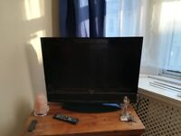 Television with Remote for Sale