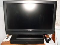 """Sony 32"""" Television + Bose Solo TV Sound System"""