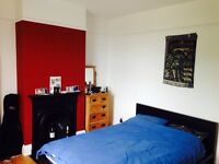 Spacious, furnished double room in shared house.