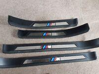 Full set of bmw msport kick plates