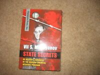 State Secrets by Vil. S. Mirzayanov defector's account of Russia's secret chemical weopons program