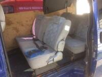 T4 / bongo rear seats /bed
