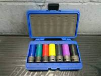 Blue point alloy wheel socket set