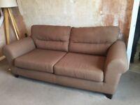 Large sofa, seats 3 people