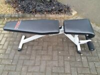 YORK 13 IN 1 UTILITY WEIGHTS BENCH with instruction booklet