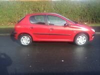 PEUGEOT 206 AUTOMATIC 34K WITH FULL SERVICE HISTORY