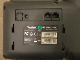 yealink sip t20p IP phone