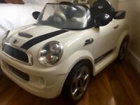 Electric Mini Cooper for kids