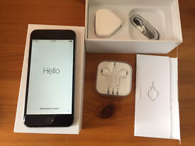 Apple iPhone 6 128GB , original box, charger, headphones - All Networks (Ulocked)
