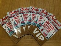 Bakewell Show VIP passes