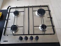 ZANUSSI ZGG65414XA Gas Hob Stainless Steel
