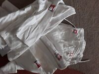 Judo suits white