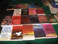 Linda howard books $1 each or $15 for the lot
