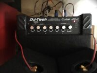DJ Tech Cube 202 PA system