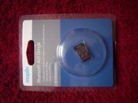 New Maplin Bluetooth 4.0 Dongle IP1