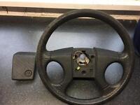 Vw mk2 golf steering wheel