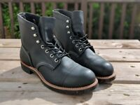 Red Wing Iron Ranger boots UK 7 - brand new -