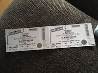 Garbage tickets for the O2 Academy Brixton