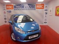 Ford Fiesta ZETEC TDCI(£30.00 ROAD TAX) FREE MOT'S AS LONG AS YOU OWN THE CA (blue) 2012
