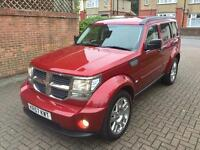 DODGE NITRO AUTOMATIC 2008 HPI CLEAR 2.8LITERS DIESEL TOP SPEC ONLY 100K