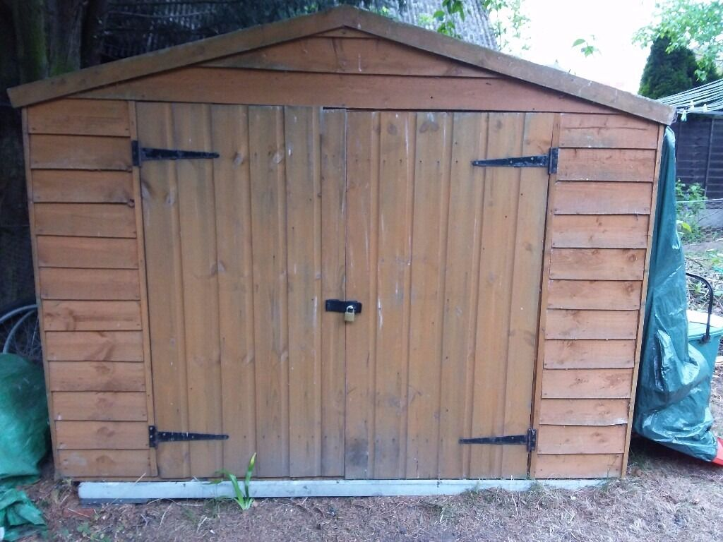 garden shed 7ft x 3ft