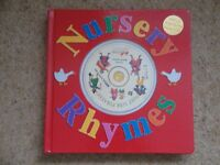 Nursery Rhymes Book with sing-along music CD