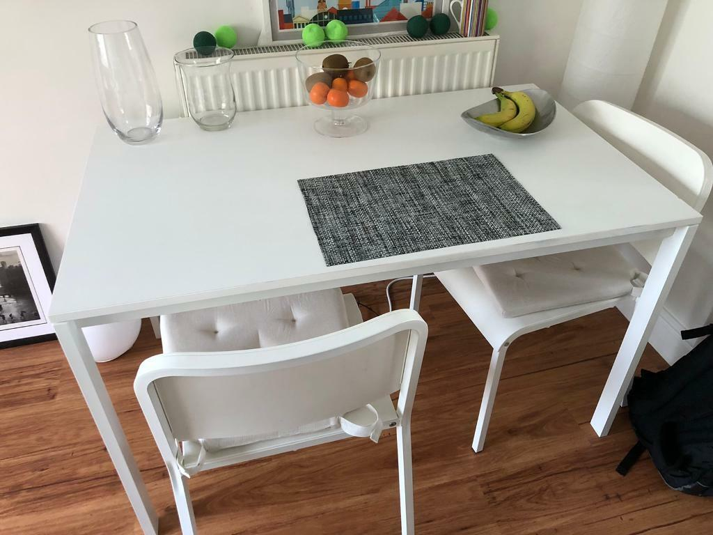 Picture of: Dining Table With 2 Chairs In Royston Cambridgeshire Gumtree