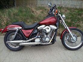 Harley Davidson Fx-Rs 1991 1340 evolution