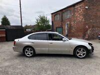 2004 04 LEXUS GS430 SE AUTO 4.3 V8 SILVER NOT GS300
